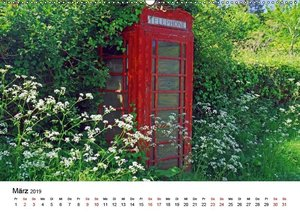 Cornwall und Wales (Wandkalender 2019 DIN A2 quer)