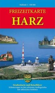 Freizeitkarte Harz 1: 100 000