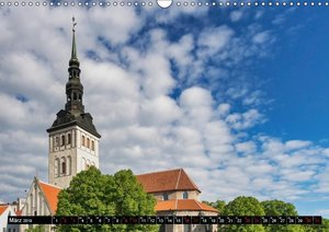 Ein Wochenende in Tallinn (Wandkalender 2019 DIN A3 quer)
