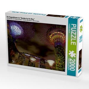 """CALVENDO Puzzle Die Superbäume im \""""Garden by the Bay\"""" 2000 Tei"""