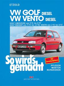 So wird's gemacht. VW Golf Diesel. VW Vento Diesel. 64/110 PS