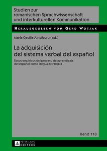 La adquisición del sistema verbal del español