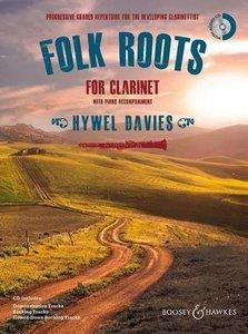 Folk Roots for Clarinet. Klarinette und Klavier.