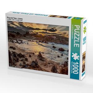 Playa de Toro - Llanes 1000 Teile Puzzle quer