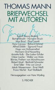 Briefwechsel mit Autoren