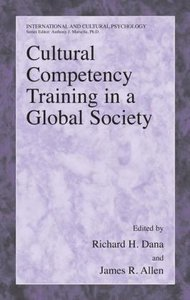 Cultural Competency Training in a Global Society
