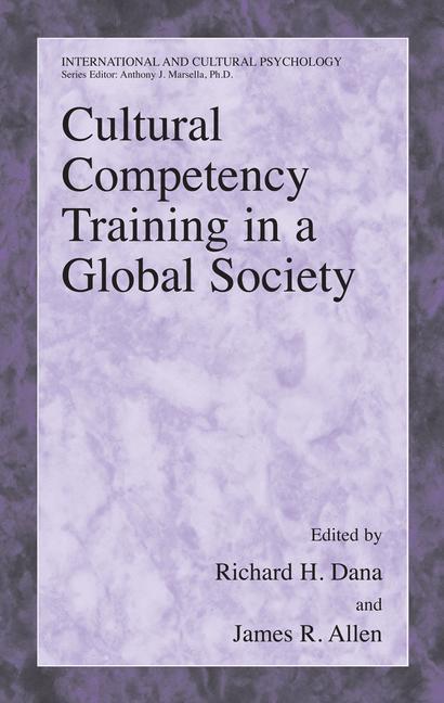Cultural Competency Training in a Global Society - zum Schließen ins Bild klicken