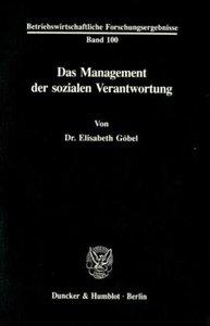 Das Management der sozialen Verantwortung