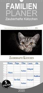 Zauberhafte Kätzchen - Familienplaner hoch