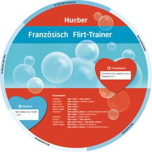 Wheel. Französisch Flirt-Trainer. Sprachdrehscheibe