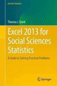 Excel 2013 for Social Sciences Statistics