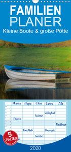 Kleine Boote & große Pötte / Geburtstagskalender - Familienplane