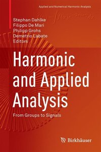 Harmonic and Applied Analysis