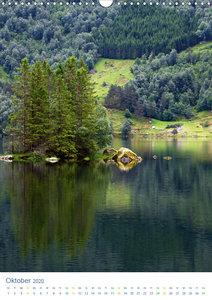 Norwegen - Unterwegs im Fjordland (Wandkalender 2020 DIN A3 hoch