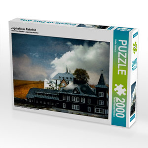 Jagdschloss Rehefeld 2000 Teile Puzzle quer