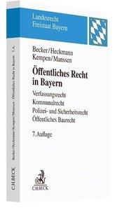 Öffentliches Recht in Bayern