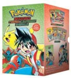 Pokemon Adventures Fire Red & Leaf Green/Emerald Box Set