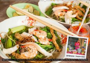 ASIA STREET FOOD - So schmeckt Asien (Wandkalender 2020 DIN A2 q