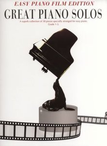 Great Piano Solos Film Easy Piano Edition Book