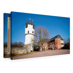 Premium Textil-Leinwand 75 cm x 50 cm quer Schloss Steinheim, Ha
