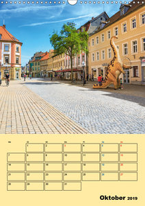 Bayreuth - die oberfränkische Hauptstadt (Wandkalender 2019 DIN
