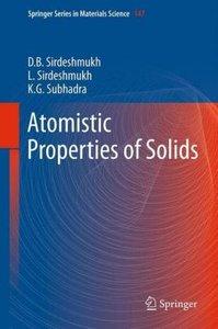 Atomistic Properties of Solids