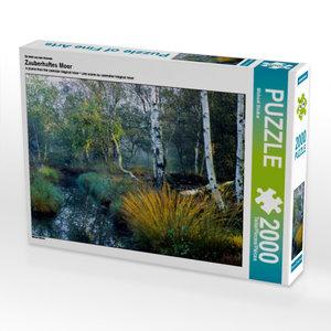 Ein Motiv aus dem Kalender Zauberhaftes Moor 2000 Teile Puzzle q