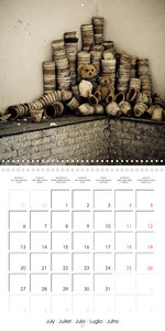 Sammy visits abandoned places (Wall Calendar 2020 300 × 300 mm S