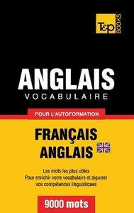 Vocabulaire Français-Anglais britannique pour l'autoformation -