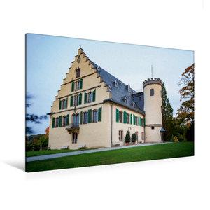 Premium Textil-Leinwand 120 cm x 80 cm quer Schloss Rosenau