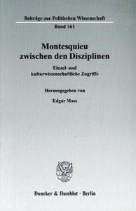 Montesquieu zwischen den Disziplinen