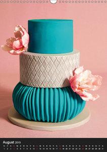 Cake Art (Wandkalender 2019 DIN A3 hoch)