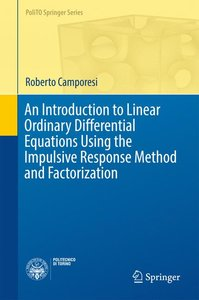 An Introduction to Linear Ordinary Differential Equations Using