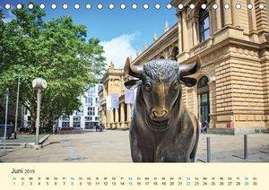 Frankfurt am Main - Finanzen und Geschichte (Tischkalender 2019