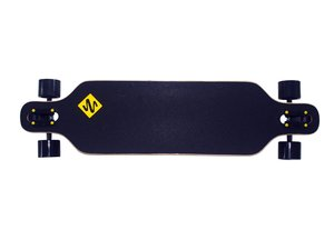 Longboard Freeride 99 cm Design Yellow Dragon