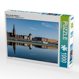 Blick auf die Altstadt - I 1000 Teile Puzzle quer