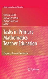 Tasks in Primary Mathematics Teacher Education