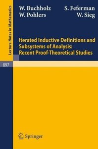 Iterated Inductive Definitions and Subsystems of Analysis: Recen