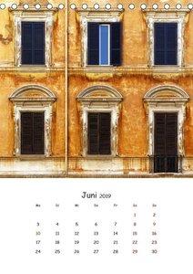 Dai Colori Vivaci - Fenster Italiens (Tischkalender 2019 DIN A5