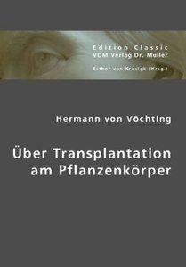 Über Transplantation am Pflanzenkörper