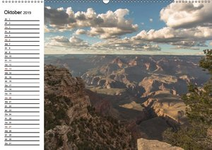 Faszination Grand Canyon (Wandkalender 2019 DIN A2 quer)