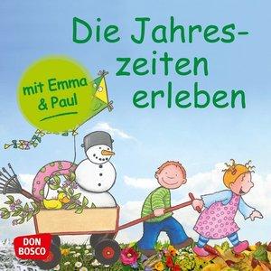 Die Jahreszeiten erleben mit Emma und Paul. Mini-Bilderbuch.