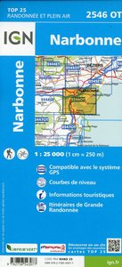 Narbonne 1:25 000