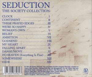 Seduction-A Danse Society Collection