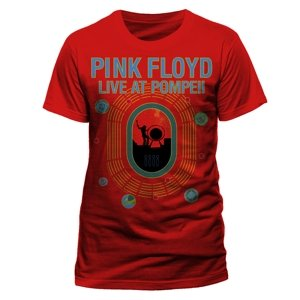 Live At Pompeii (T-Shirt,Rot,Größe L)