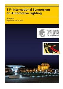 11th International Symposium on Automotive Lighting - ISAL 2015