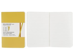 Moleskine Ruled Volant Pocket Golden Yellow Cover