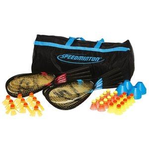 Speedminton 400128 - Sport Big Set, 10fach Schlägerset