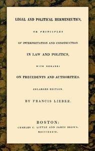 Legal and Political Hermeneutics