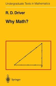 Why Math?